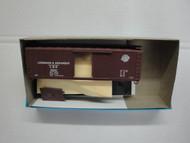 2394 (HO SCALE) Bev-Bel-66-2394 Louisiana and Arkansas 40  Woodside Single Door Boxcar L and A 12037