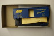 2398 (HO SCALE) Bev-Bel-66-2398 Louisville and Nashville 40  Steel Single Door Boxcar L and N 46732