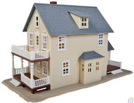 (HO Scale) WAL-931-901         Two-Story House