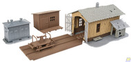 (HO Scale) WAL-931-909         Trackside Tool Buildings