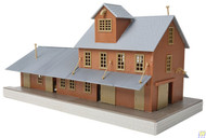 (HO Scale) WAL-931-918         Brick Freight House