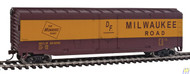 1405 (HO Scale) WAL-931-1405        Boxcar MILW #8491