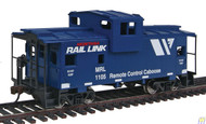 (HO Scale) WAL-931-1530        Cab Wide-Vision MRL Blu