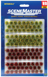 1105 (HO Scale) WAL-949-1105        Grs Tufts Blmng Flwrs 104