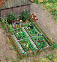 1110 (HO Scale) WAL-949-1110        Vegetable Garden