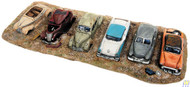 (HO Scale) WAL-949-3000        Junk Automobiles Row