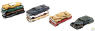 (HO Scale) WAL-949-3001        Flattened Cars 4/
