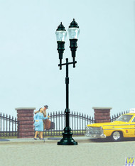(HO Scale) WAL-949-4308        Double-Arm Streetlight