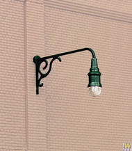 (HO Scale) WAL-949-4311        Ornate Wall Mtd Light 3/