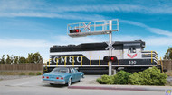 (HO Scale) WAL-949-4331        Cantilever grade xing sgl