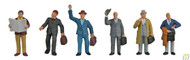 (HO Scale) WAL-949-6024        Business Travelers 6/