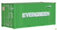 (HO Scale) WAL-949-8002        20' Rib Cont Evergreen