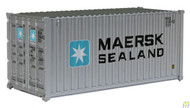 (HO Scale) WAL-949-8051        20' RS Cont MAERSK-Sealnd