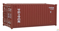 (HO Scale) WAL-949-8053        20' RS Cont Triton