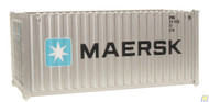 (HO Scale) WAL-949-8060        20' RS Cont MAERSK