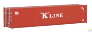 (HO Scale) WAL-949-8153        40' RS Container K-Line