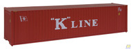 (HO Scale) WAL-949-8203        40' HC Container K-Line