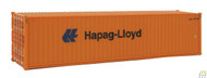 (HO Scale) WAL-949-8254        40' HC RS Cont Hapag-Lyd