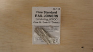 (SCALE=HO ) Peco-PCO-SL-110 Code 75 Rail Joiners  1 package of 24