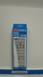 Peco / SL-E92 Code 100 Left-Hand Small Radius Electrofrog Turnout (SCALE=HO ) P Part # PCO-SL-E92