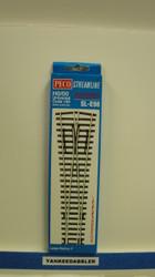 Peco / SL-E98 Code 100 Large Radius Wye Electrofrog Turnout (SCALE=HO ) P Part # PCO-SL-E98