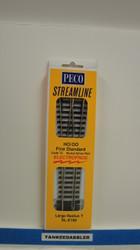 SL-E198 Peco / SL-E198 Code 75 Wye Large Radius Electrofrog Turnout (SCALE=HO ) P Part # PCO-SL-E198