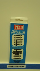 (SCALE=HO ) Peco-PCO-SL-84 HO Code 100 Right-Hand Catch Derail Turnout