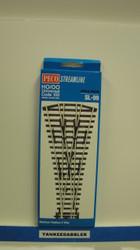 (SCALE=HO ) Peco-PCO-SL-99 HO Code 100 3-Way Medium Radius Insulfrog Turnout