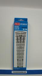 Peco / SL-98 HO Code 100 Large Radius Wye Insulfrog Turnout (SCALE=HO ) P Part # PCO-SL-98