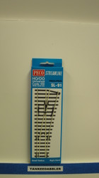 Peco / SL-91 HO Code 100 Right-Hand Small Radius Insulfrog Turnout (SCALE=HO ) P Part # PCO-SL-91