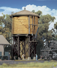 2813 (HO Scale) WAL-933-2813        Wood Water Tank Ylw Ochre