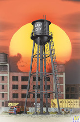 2825 (HO Scale) WAL-933-2825        City Water Tower Blk