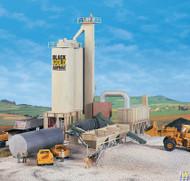 (HO Scale) WAL-933-3085        Black Gold Asphalt Plant