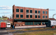 (HO Scale) WAL-933-3173        Commissary/Freight Bldg
