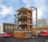 (HO Scale) WAL-933-3766        Fire Dept. Drill Tower