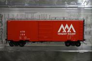 4930 Kadee / PS 40' Boxcar VTR #156  (HO Scale) Part # 380-4930