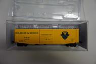 6381 Kadee / 50' Boxcar D&H #29178  (HO Scale) Part # 380-6381