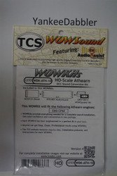 TRAIN CONTROL SYSTEM - TCS /  Athern {WOW WDK-ATH-10} DIESEL Version 4 CONVERSION KIT - HO Scale  YankeeDabbler Part # 745-1777