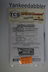 TRAIN CONTROL SYSTEM - TCS /  Athern {WOW WDK-ATH-9} DIESEL Version 4 CONVERSION KIT - HO Scale  YankeeDabbler Part # 745-1753