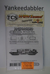 TRAIN CONTROL SYSTEM - TCS /  Bowser {WOW WDK-BOW-1} DIESEL Version 4 CONVERSION KIT - HO Scale  YankeeDabbler Part # 745-1761