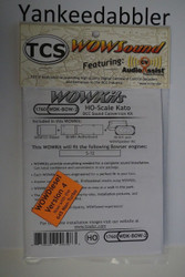 TRAIN CONTROL SYSTEM - TCS /  Bowser {WOW WDK-BOW-2} DIESEL Version 4 CONVERSION KIT - HO Scale  YankeeDabbler Part # 745-1760