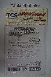 TRAIN CONTOL SYSTEMS (TCS) BachmannWDK-BAC-4 WOW STEAM Version 4 CONVERSION KIT - HO Scale  YankeeDabbler Part # 745-1903