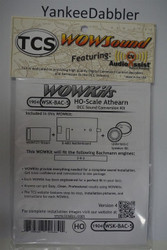 TRAIN CONTOL SYSTEMS (TCS) BachmannWDK-BAC-5 WOW STEAM Version 4 CONVERSION KIT - HO Scale  YankeeDabbler Part # 745-1904