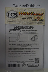 TRAIN CONTOL SYSTEMS (TCS) BachmannWDK-BAC-6 WOW STEAM Version 4 CONVERSION KIT - HO Scale  YankeeDabbler Part # 745-1905