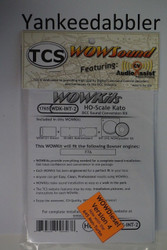 TRAIN CONTROL SYSTEM - TCS /  Intermountain {WOW WDK-INT-2} DIESEL Version 4 CONVERSION KIT - HO Scale  YankeeDabbler Part # 745-1765