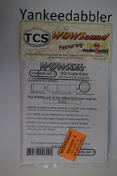 TRAIN CONTROL SYSTEM - TCS /  Intermountain {WOW WDK-INT-3} DIESEL Version 4 CONVERSION KIT - HO Scale  YankeeDabbler Part # 745-1764