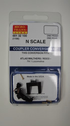 132100 MICRO TRAINS / {001 32 100} COUPLER CONVERSION KIT-  (SCALE=N)   (1156) - YANKEEDABBLER  PART #  = 489-132100