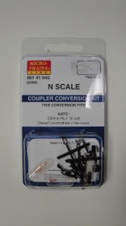 141040 MICRO TRAINS / {001 41 040} COUPLER CONVERSION KIT (2000)  (SCALE=N)    - YANKEEDABBLER  PART #  = 489-141040