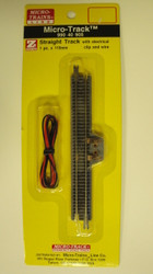99040905 MICRO TRAINS / {99040905} STRAIGHT TRACK W/ELC CLIP & WIRE  (SCALE=Z)  YANKEEDABBLER  PART #  = 489-99040905