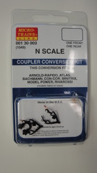 130003 MICRO TRAINS / {001 30 003} COUPLER CONVERSION KIT (1049)   (SCALE=N)    - YANKEEDABBLER  PART #  = 489-130003